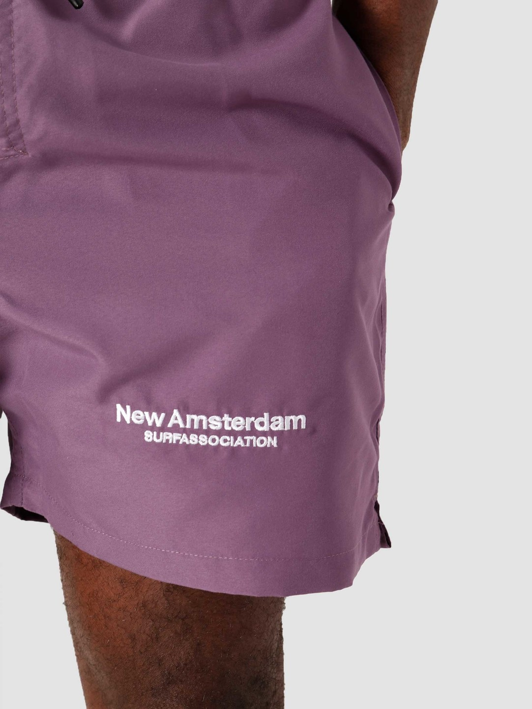 New Amsterdam Surf Association New Amsterdam Surf association Logo Short Grape Ss21 2021026
