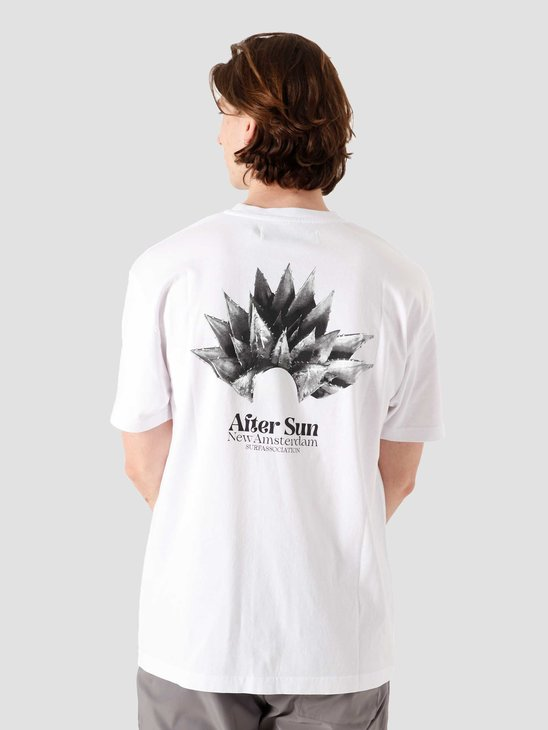 New Amsterdam Surf association After Sun Tee White