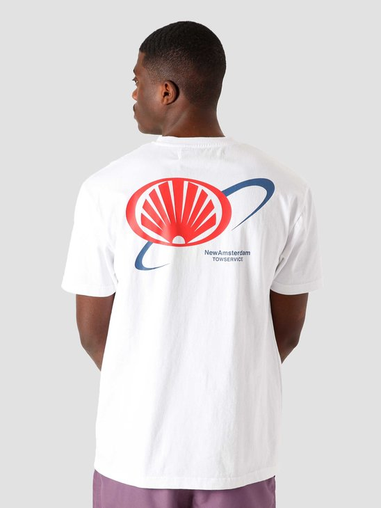 New Amsterdam Surf association Tow Tee White 2021001