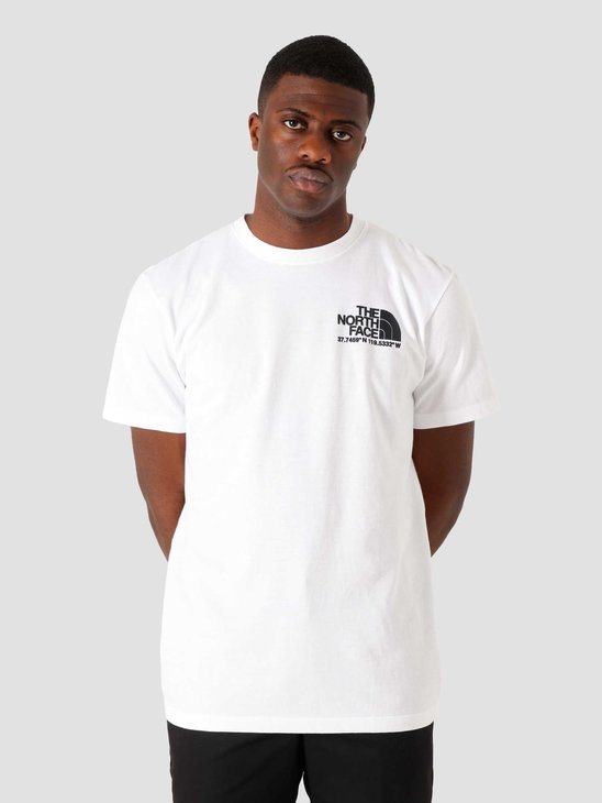 The North Face Coordinates T-Shirt White NF0A52Y8FN4