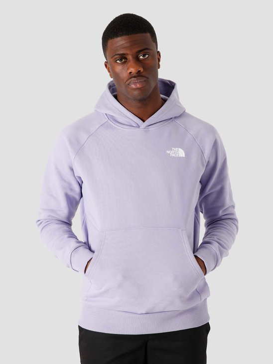 The North Face Raglan Redbox Hoodie Sweet Lavender NF0A2ZWUW23