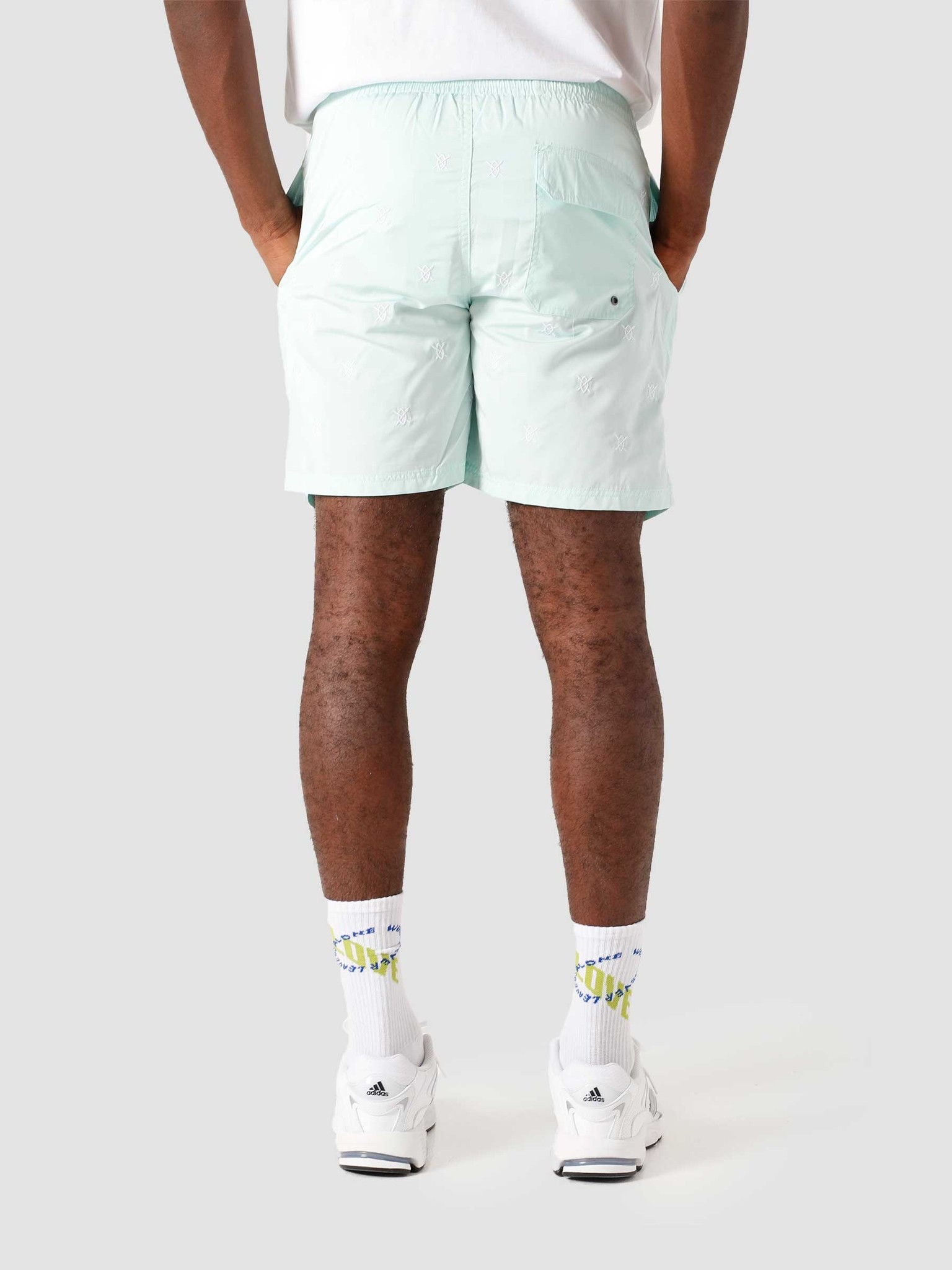 Daily Paper Daily Paper Eswim Swimshort Pastel Turquoise 2111018