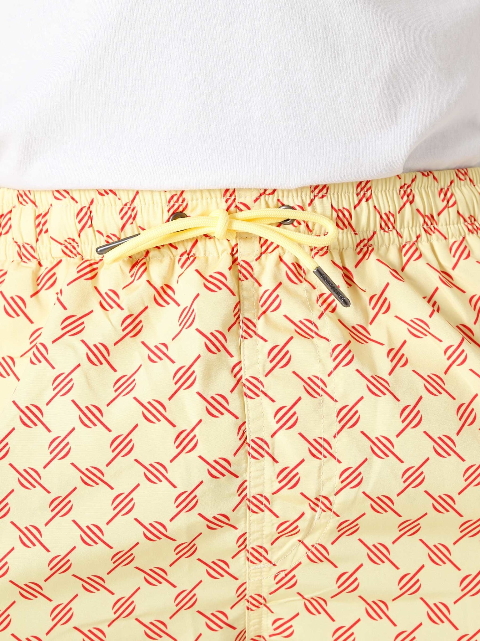 Daily Paper Daily Paper Kali 1 Classic Swimshort Yellow Red Monogram 2111148