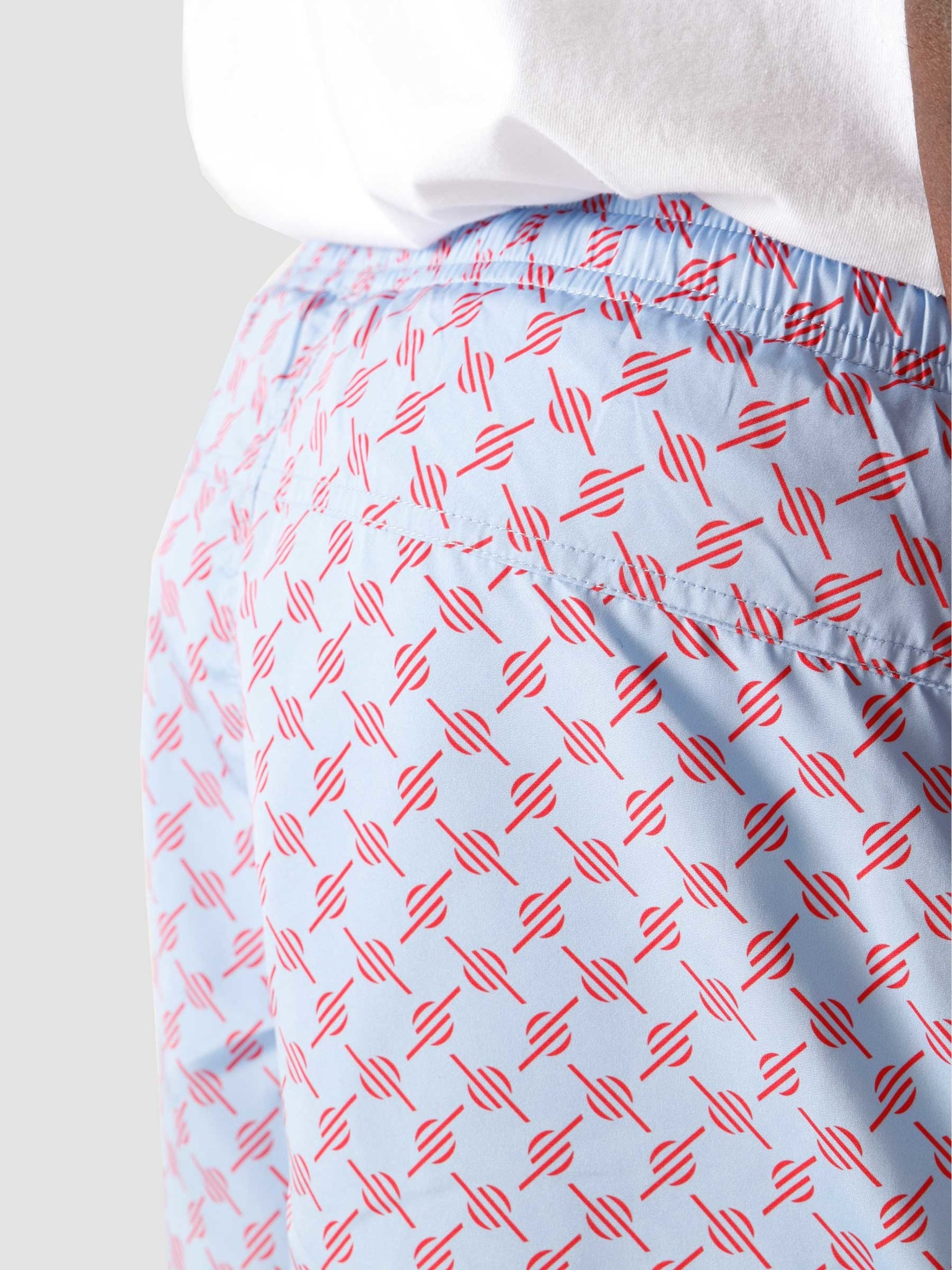 Daily Paper Daily Paper Kali 2 Classic Swimshort Blue Red Monogram 2111147