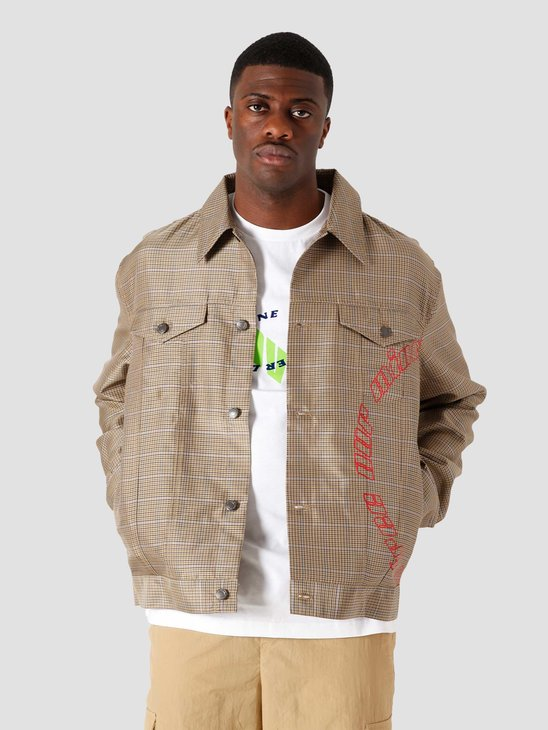 Daily Paper Kardy Jeans Jacket Sand Check 2111112
