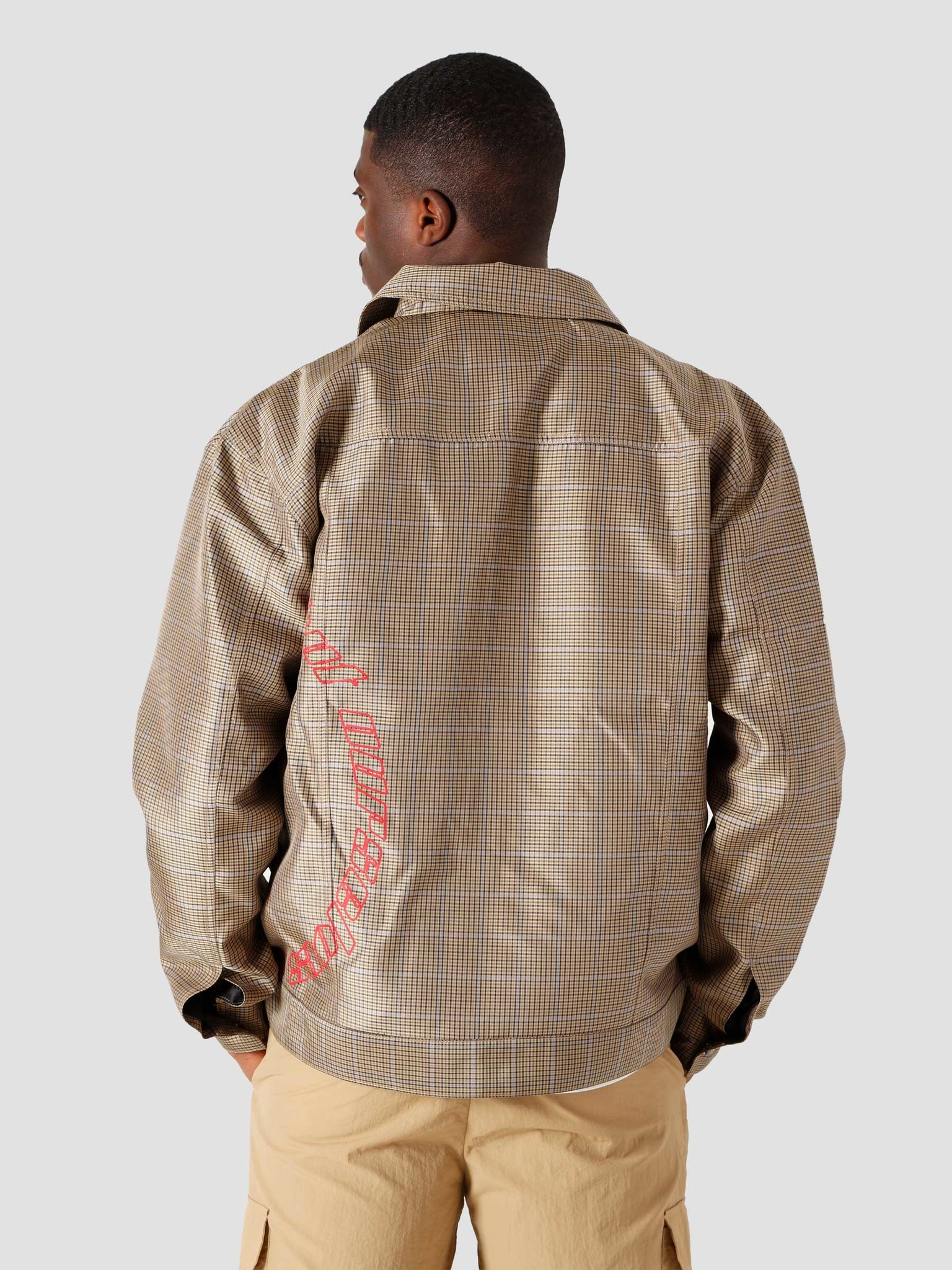 Daily Paper Daily Paper Kardy Jeans Jacket Sand Check 2111112