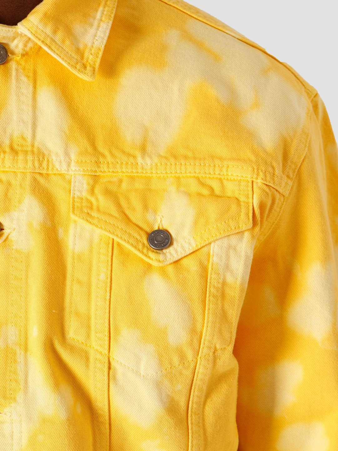 Daily Paper Daily Paper Kardy Jeans Jacket Yellow 2111171