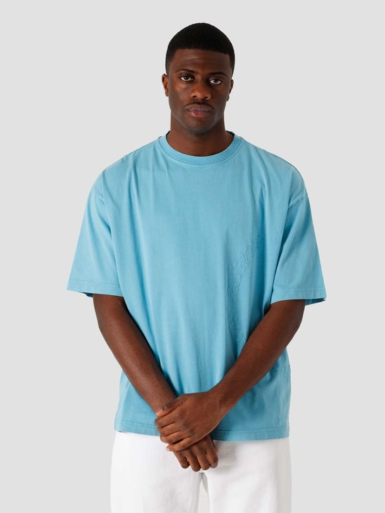 Daily Paper Kenspla Oversized T-Shirt Swedish Blue 2111103