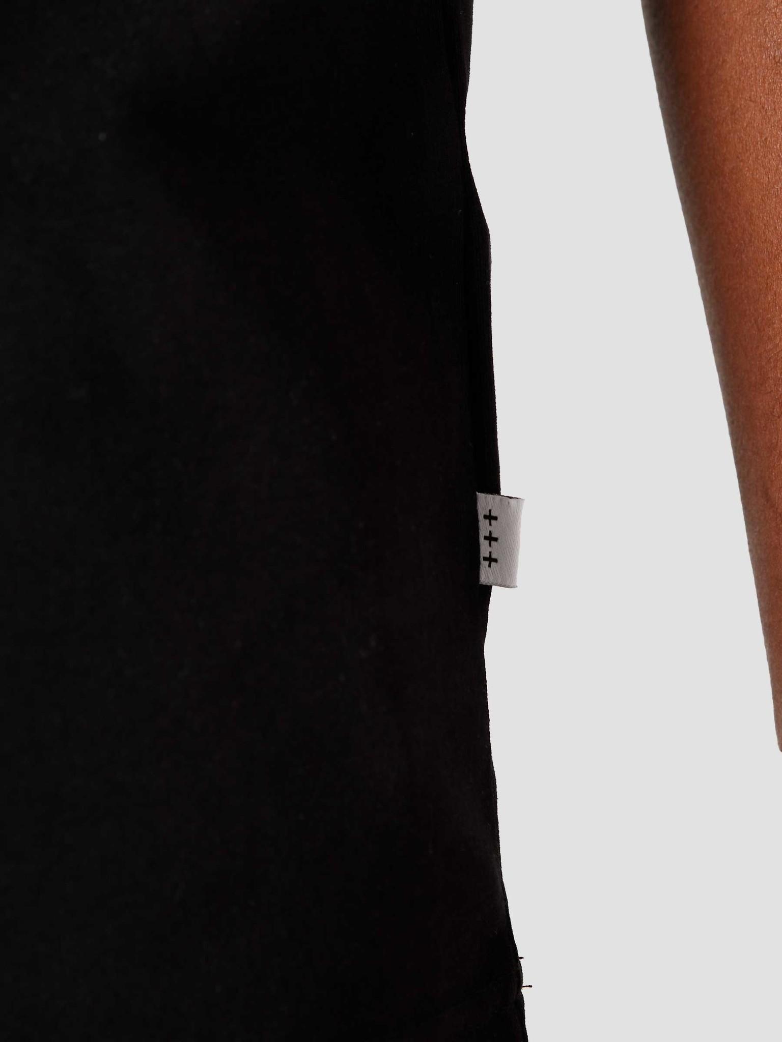Quality Blanks Quality Blanks QB302 Heavy Raglan T-shirt Black