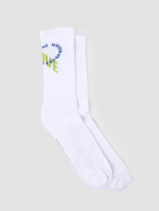Daily Paper Karu Sock White 2111182