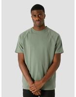 Quality Blanks Quality Blanks QB302 Heavy Raglan T-shirt Olive