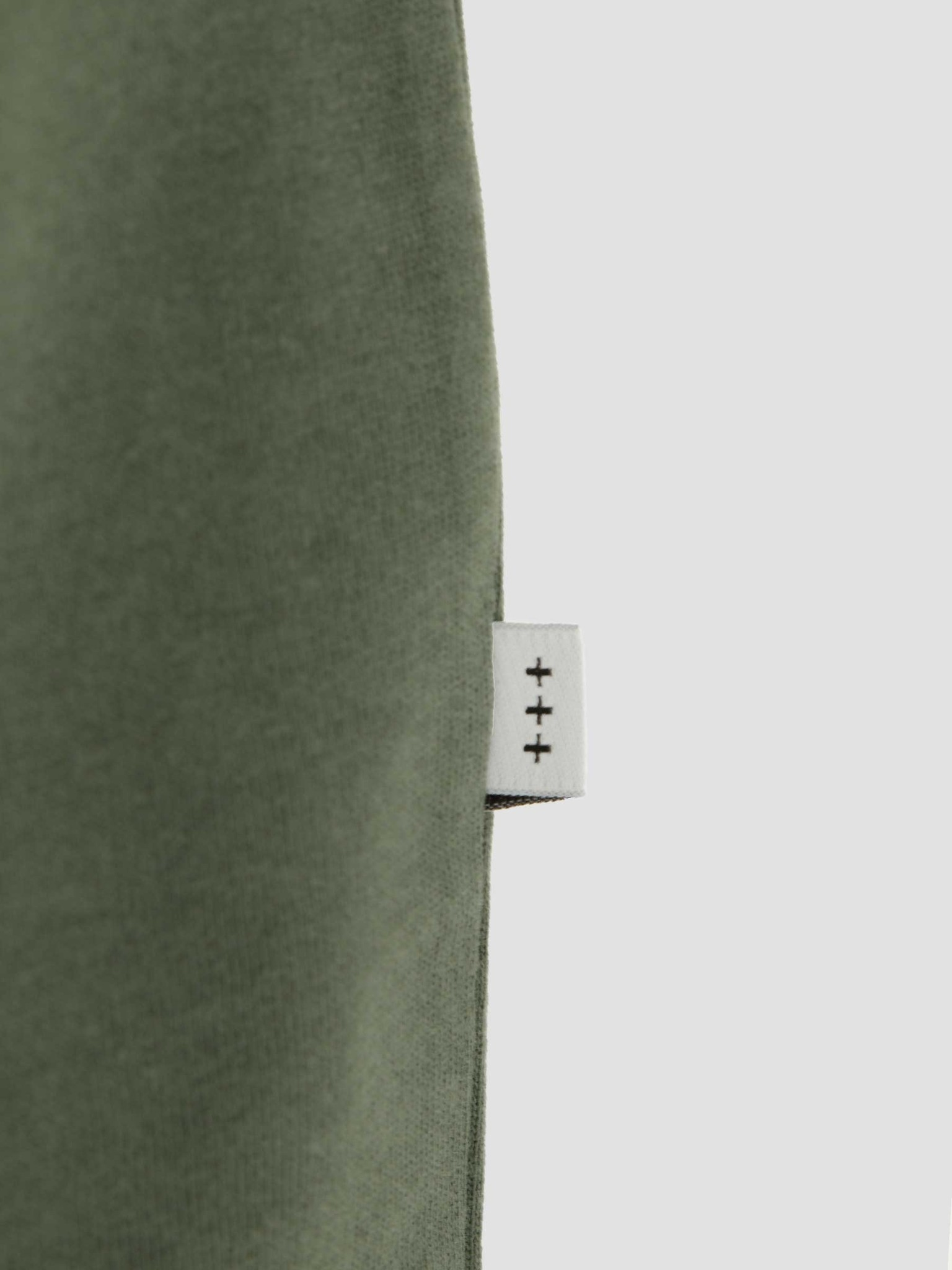 Quality Blanks Quality Blanks QB502 Heavy Raglan Longsleeve Olive