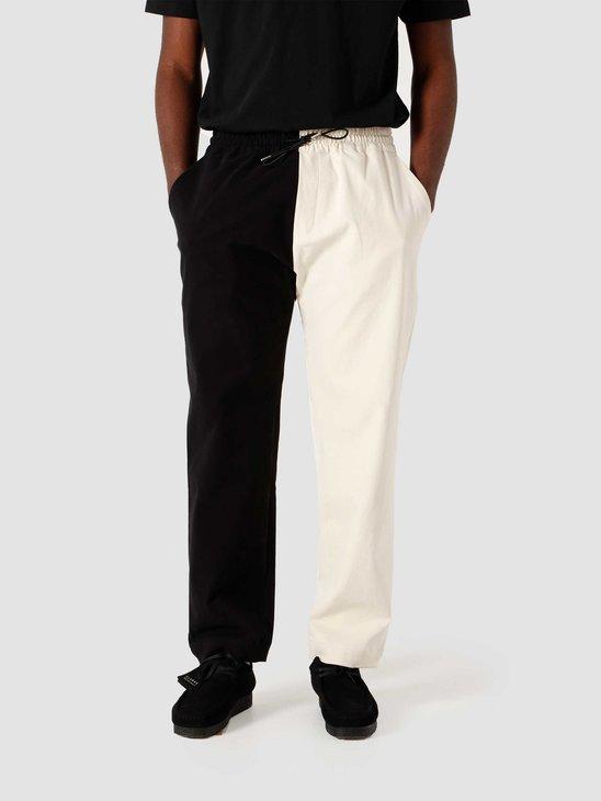 New Amsterdam Surf association Work Trouser Black White 2021062