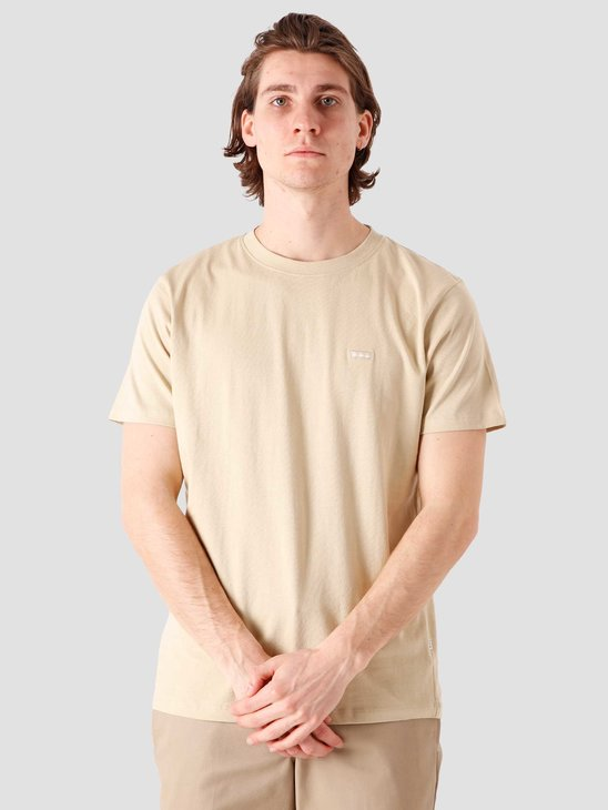 Quality Blanks QB03 Patch Logo T-shirt Beige