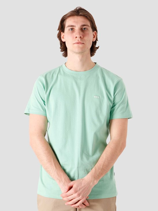 Quality Blanks QB03 Patch Logo T-shirt Green