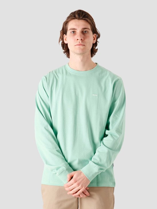 Quality Blanks QB05 Patch Logo Longsleeve Green