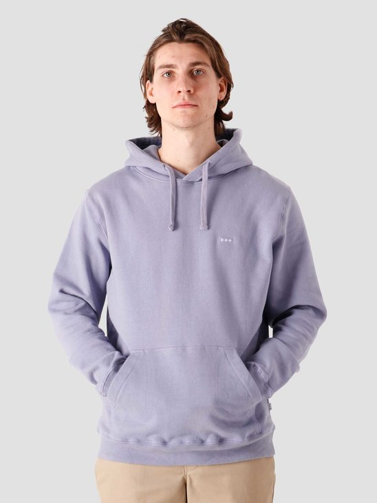 Quality Blanks QB93 Patch Logo Hoodie Dusty Lilac