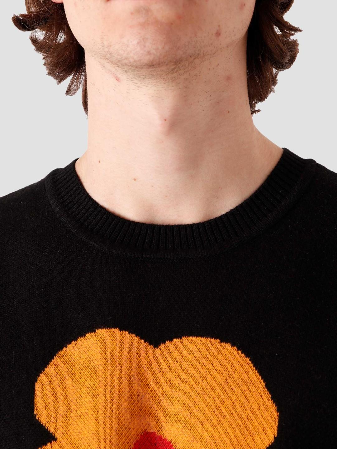 Obey Obey Traces Sweater Black Multi 151000052-BKM