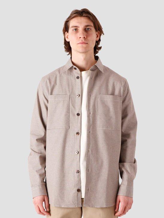 Libertine Libertine Canyon Shirt Brown Check 2046