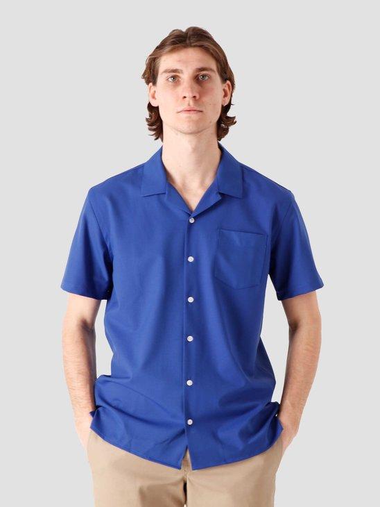 Libertine Libertine Cave Shortsleeve Shirt Electric Blue 2025