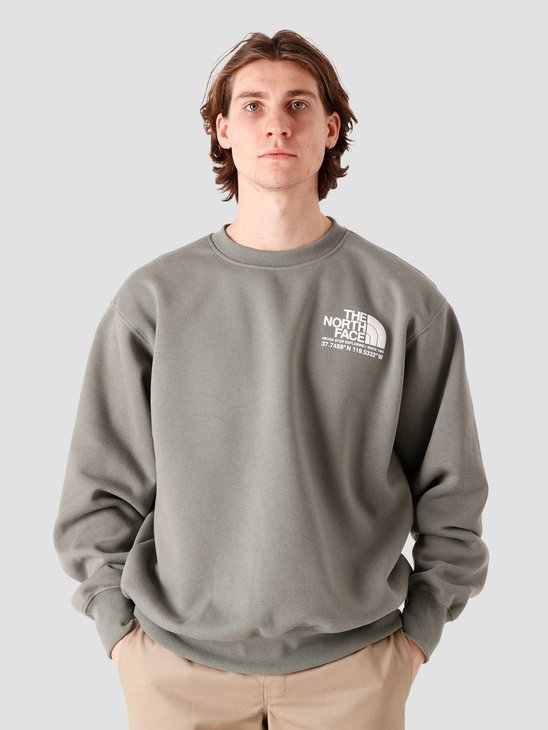 The North Face Coordinates Crew Agave Green NF0A55MXV38