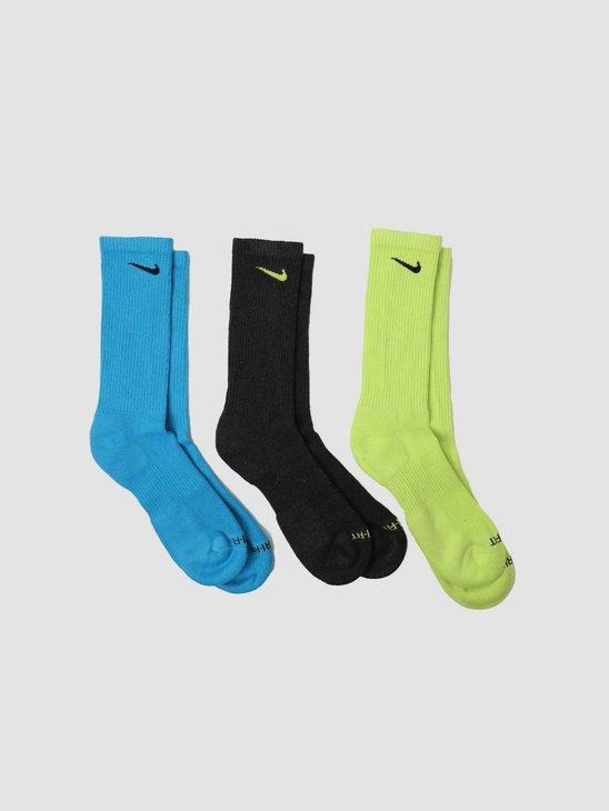 Nike Every Plus Cush Crew 3PR Multi Color SX6888-903