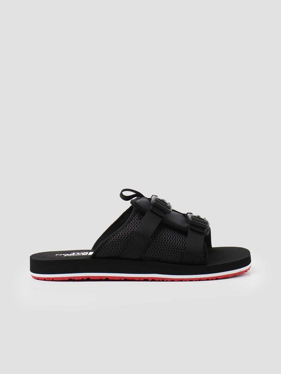 The North Face Eqbc Slide TNF Black Fiery Red NF0A46B3TJ21