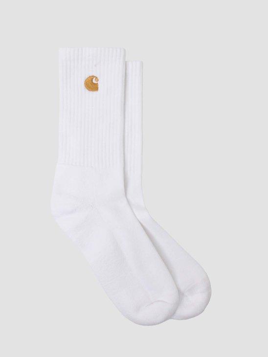 Carhartt WIP Chase Socks White Gold I029421-290