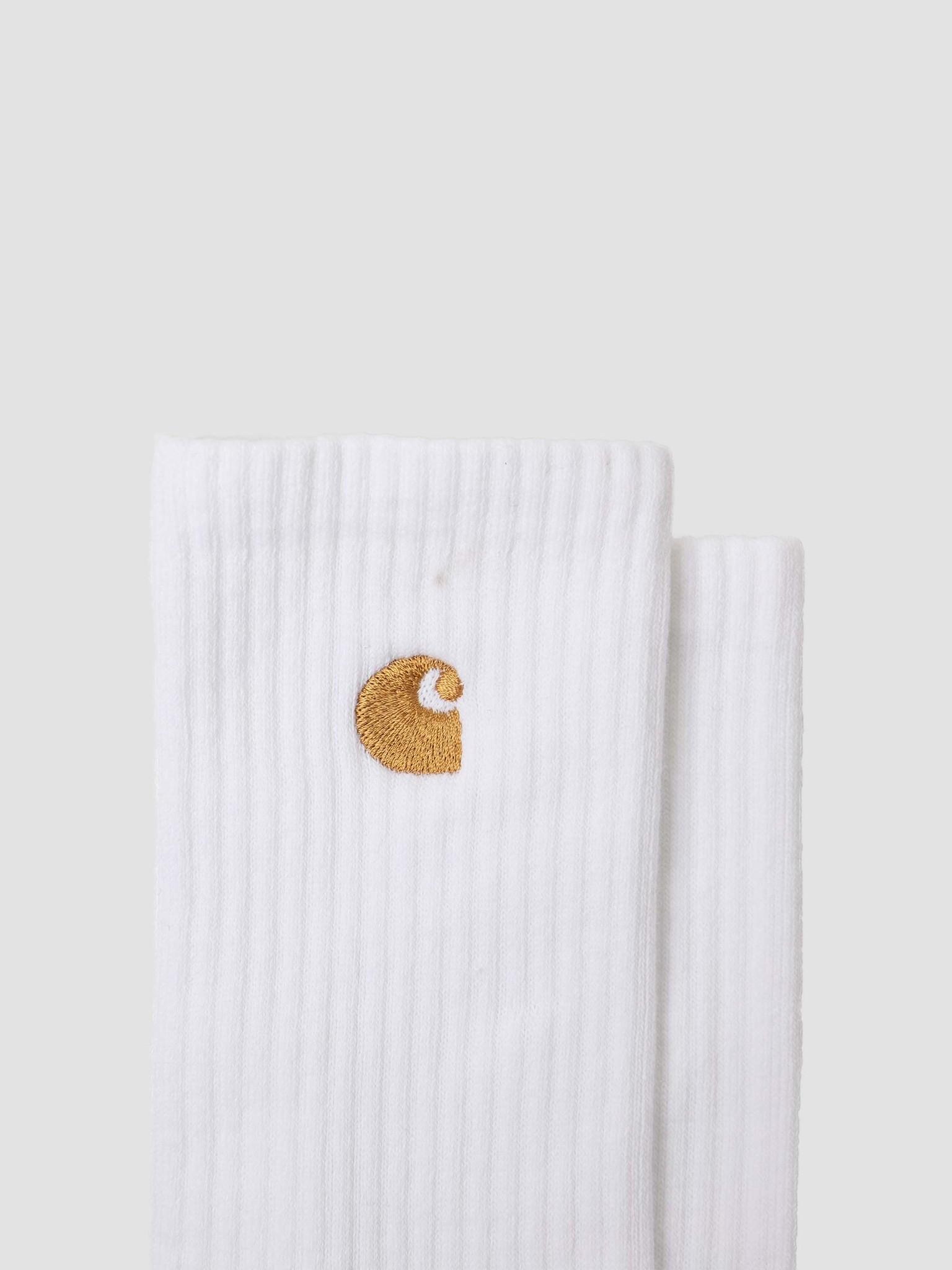 Carhartt WIP Carhartt WIP Chase Socks White Gold I029421-290
