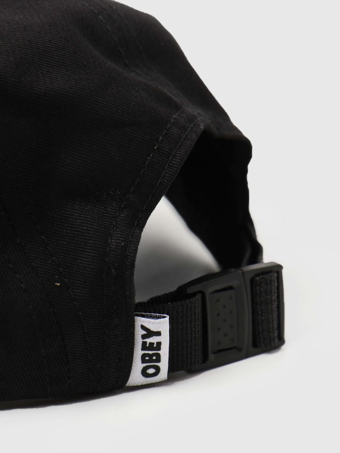 Obey Obey Eyes 5 Panel Hat Black 100490059-BLK