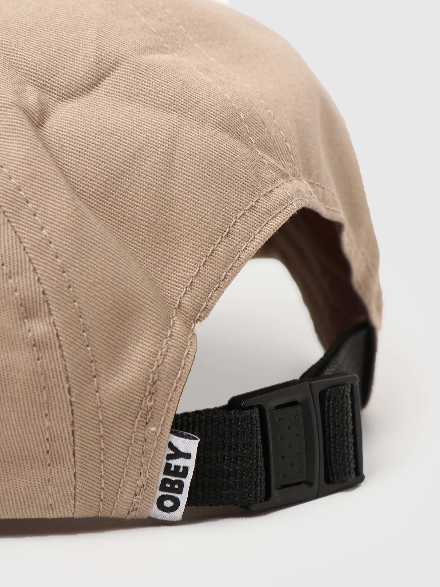 Obey Obey Eyes 5 Panel Hat Khaki 100490059-KHA