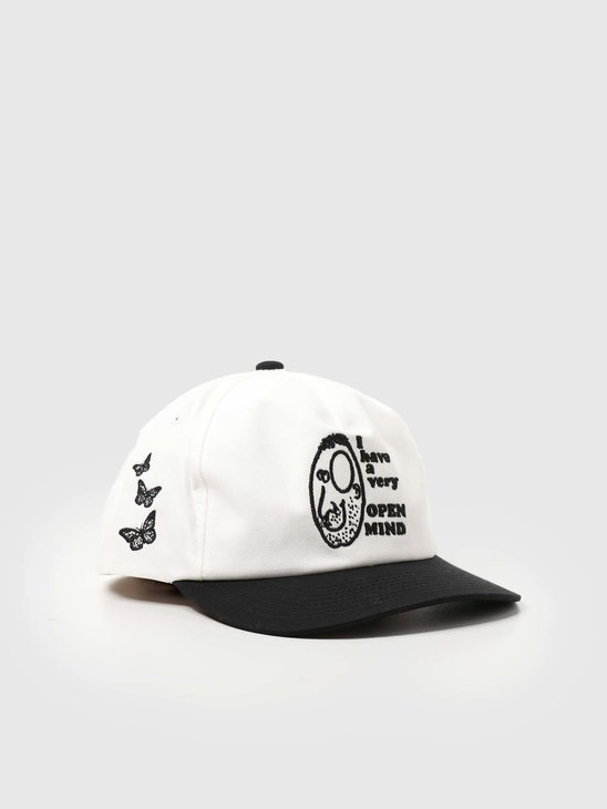 Obey Open Mind Snapback White Multi 100580281
