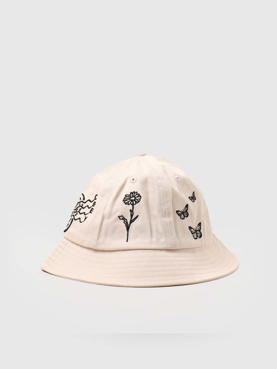 Obey Printed 6 Panel Bucket Hat Sago 100580269-SGO