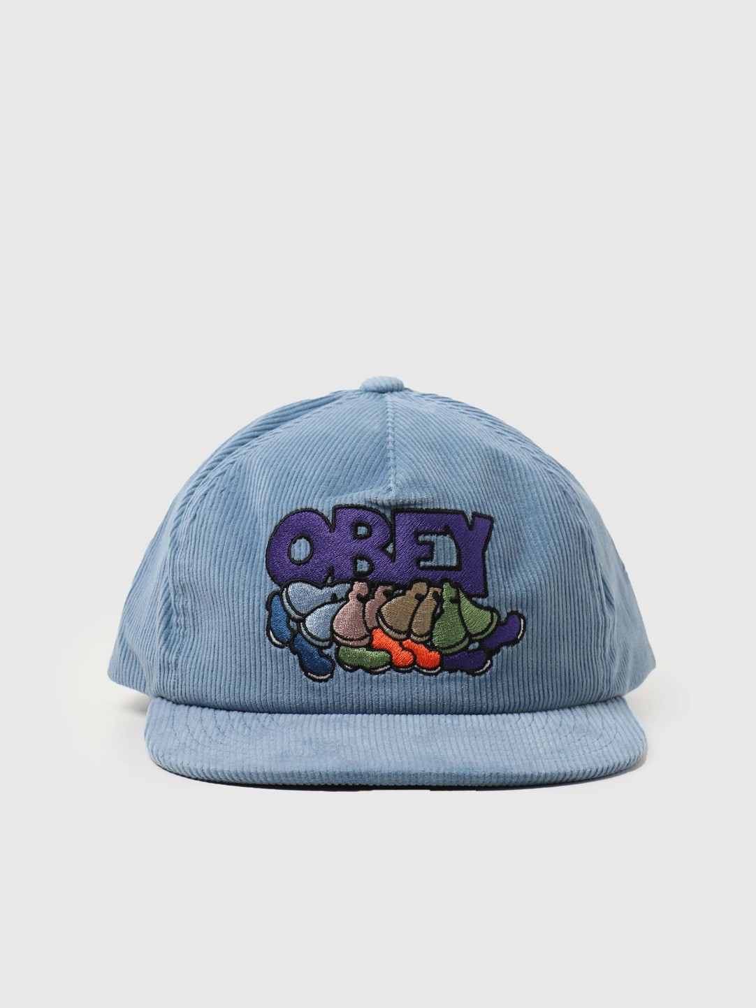 Obey Obey Roadrunner Snapback Blue Sky 100580282-SKY