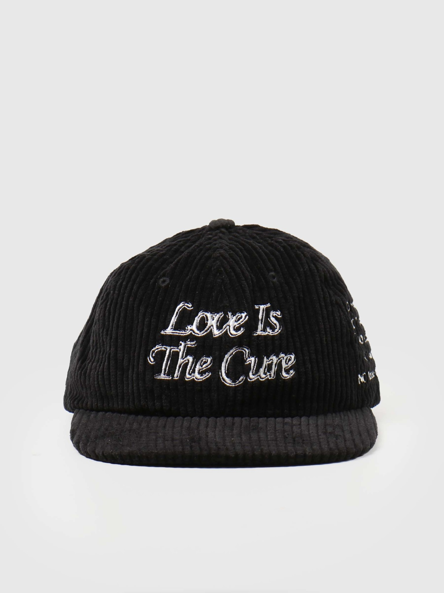 Obey Obey The Cure 6 Panel Strapback Black 100580280-BLK