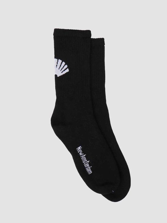 New Amsterdam Surf association Logo Socks Black 2021087