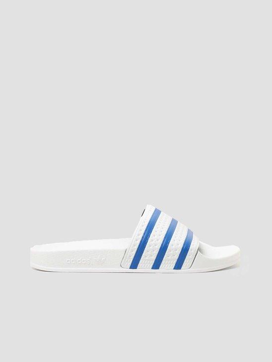 adidas Adilette Footwear White Blue FX5860
