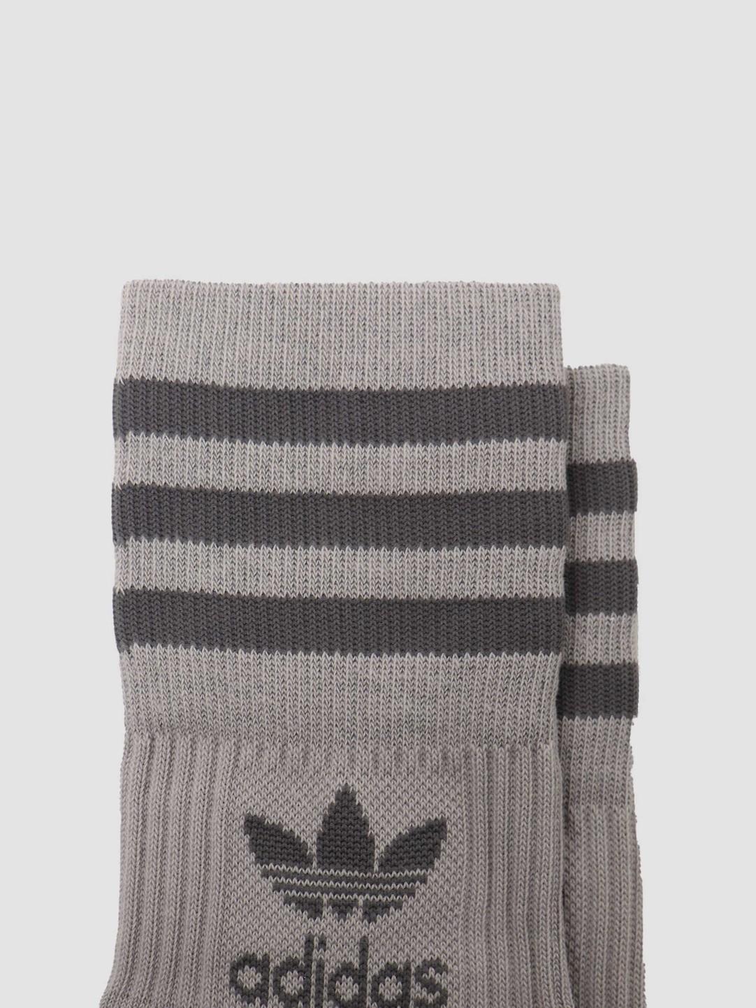 adidas adidas Mid Cut Crew Sock Solid Grey GN3079