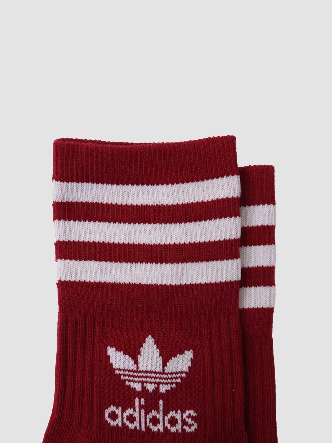adidas adidas Mid Cut Crew Sock Scarlet GN3078