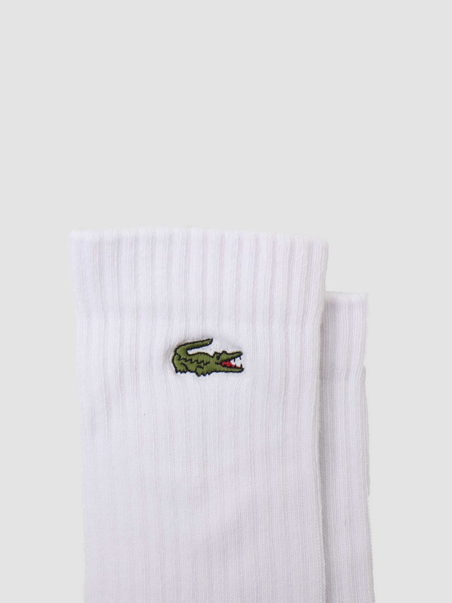 Lacoste Lacoste 2G1C Socks 11 Silver Chine White Black RA2099-11