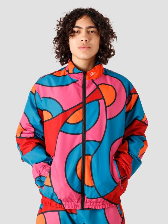 by Parra Serpent Pattern Track Top 45240