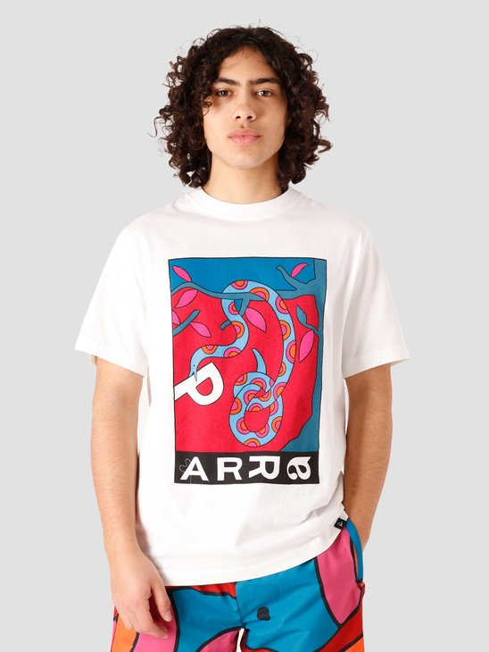 by Parra Eve Garden T-Shirt White 45140