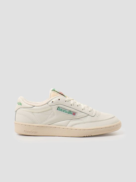 Reebok Club C 1985 TV Chalk Paperwhite Green DV6434