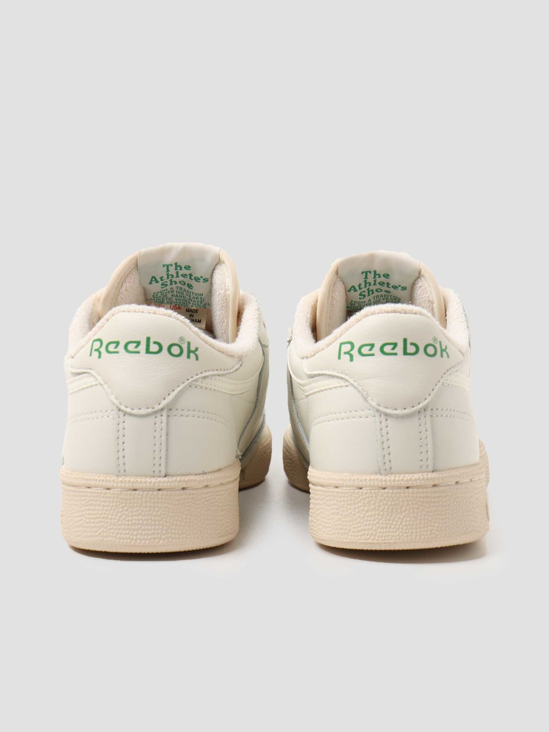 Reebok Reebok Club C 1985 TV Chalk Paperwhite Green DV6434