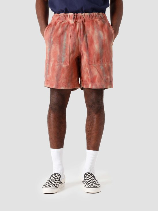 Stussy Dyed Easy Short Rust 112261-0627