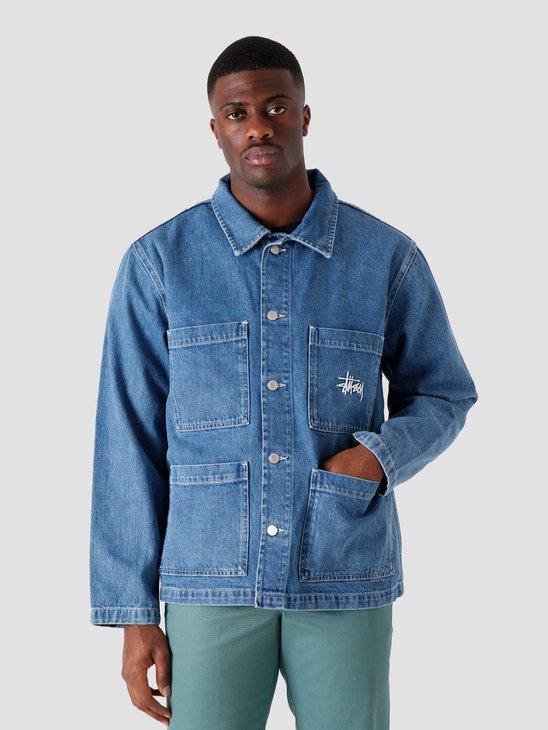 Stussy Denim Chore Jacket Blue 115570-0801