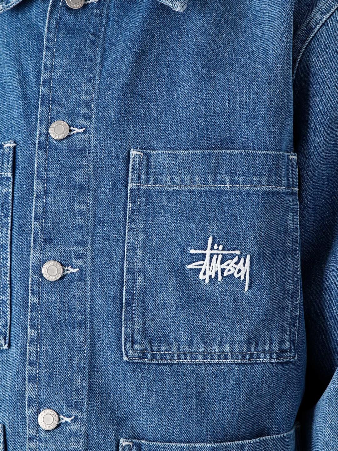 Stussy Stussy Denim Chore Jacket Blue 115570-0801