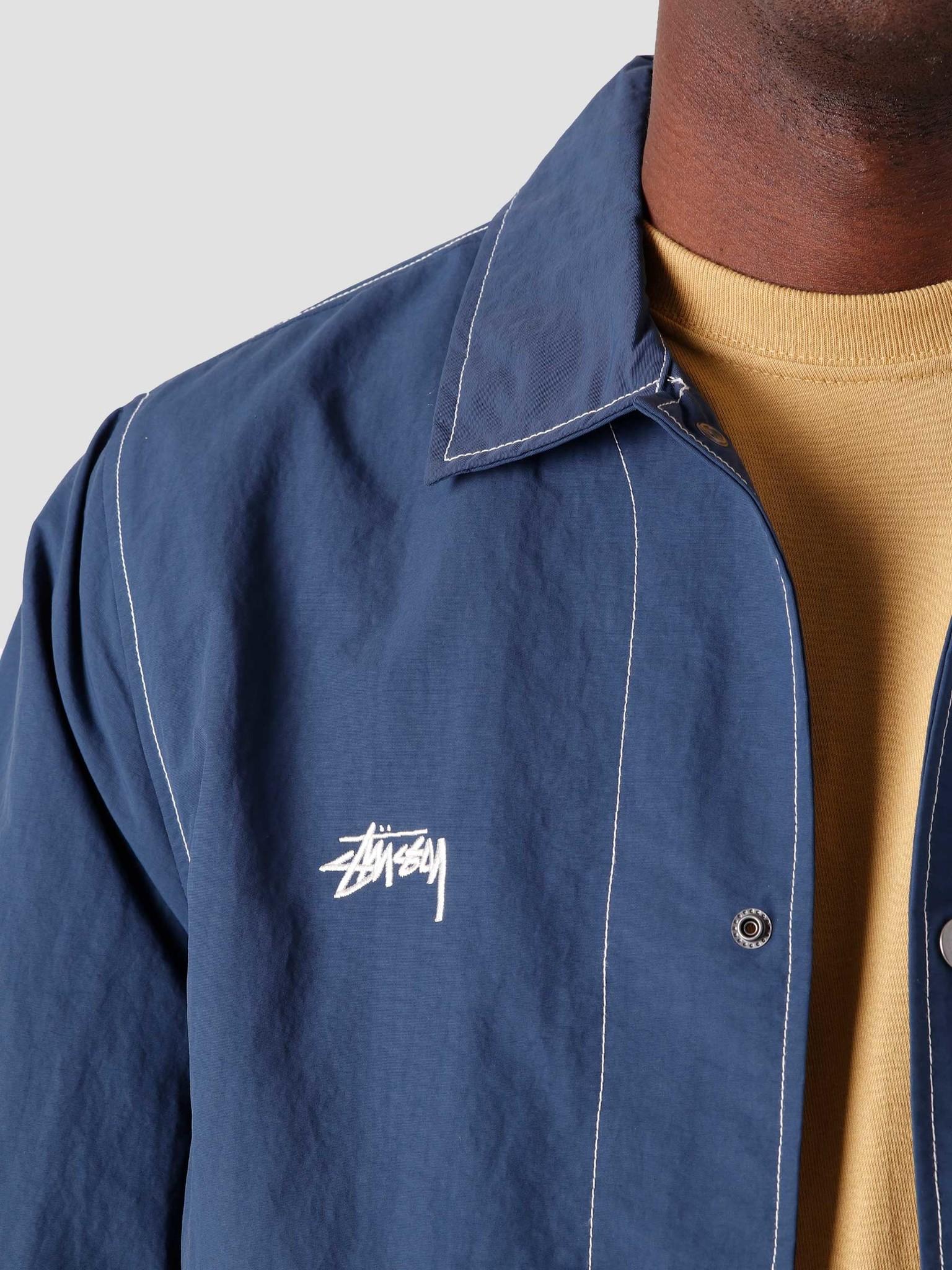 Stussy Stussy Folsom Coach Jacket Navy 115555-0806