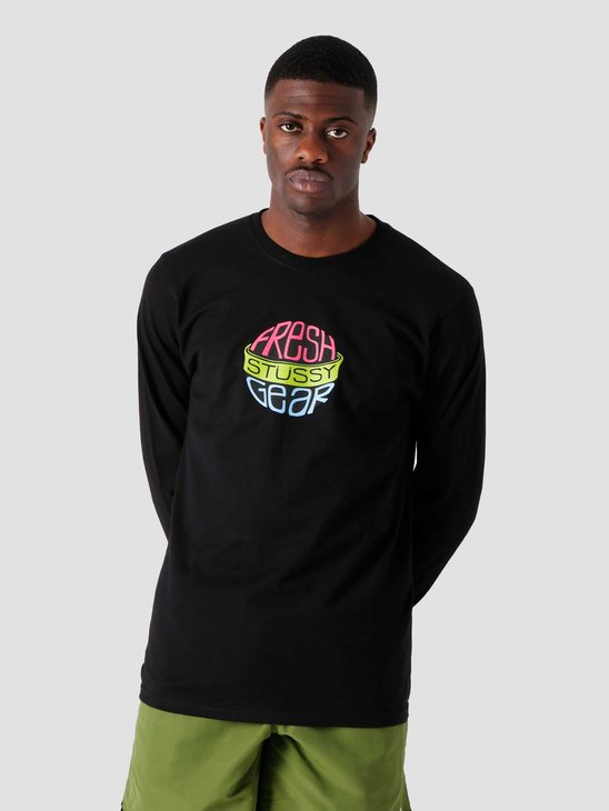 Stussy Fresh Gear Longsleeve T-Shirt Black 1994676-0001