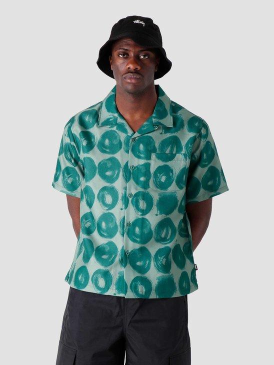 Stussy Hand Drawn Dot Shirt Green 1110158-0401